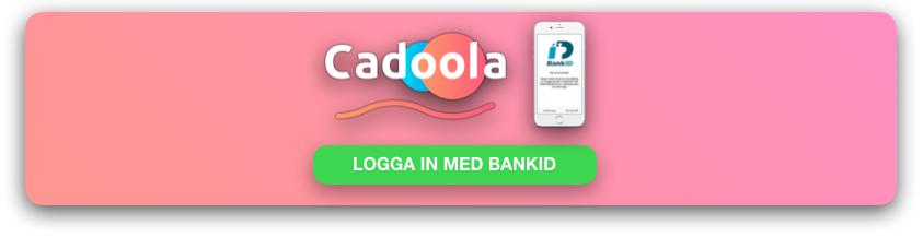 Cadoola logga in med BankID SVENKSNATCASINO SE