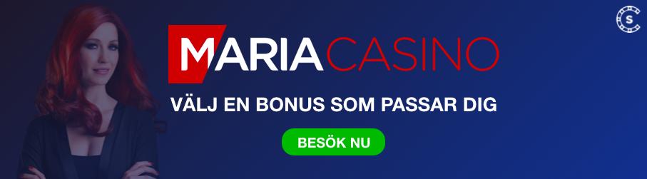 MARIA CASINO BONUS OMSATTNINGSFRI SVENSKNATCASINO SE