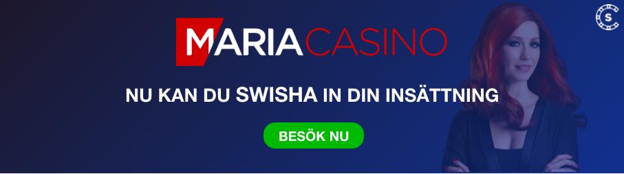 MARIA CASINO SWISHA INSATTNING SVENSKNATCASINO SE
