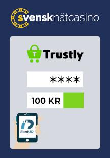 Gör en insättning via Trustly eller Swish