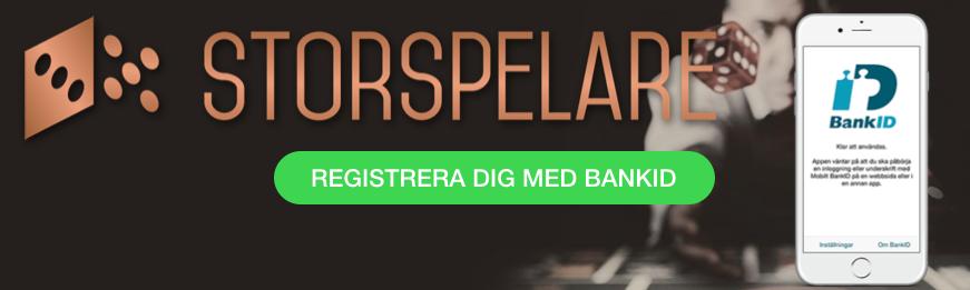 Storspelare BankID Svenknätcasino se