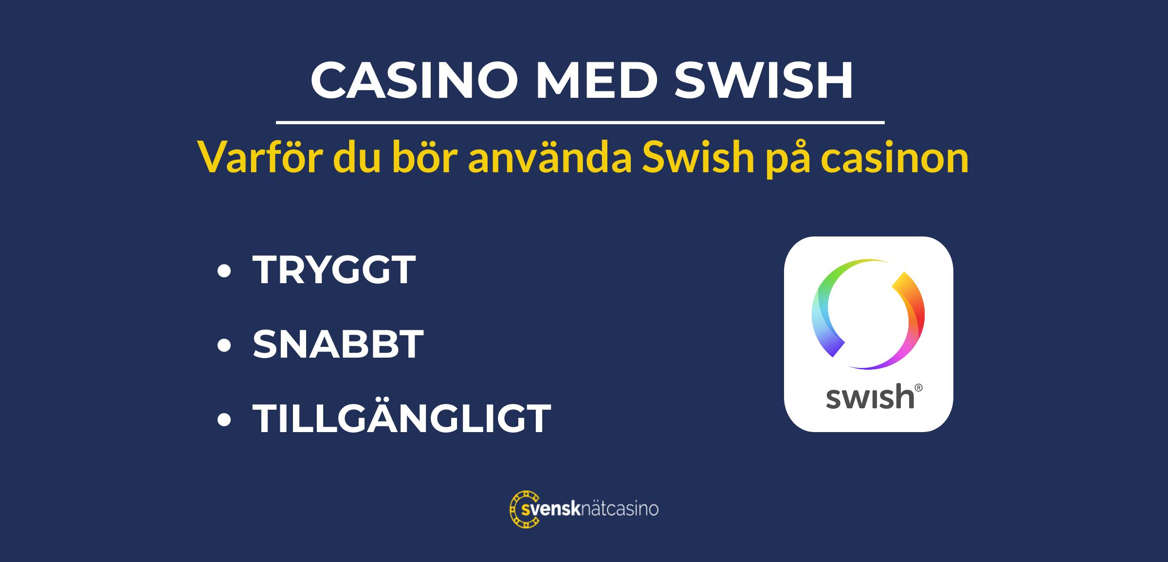 casino med swish varfor svensknatcasino se