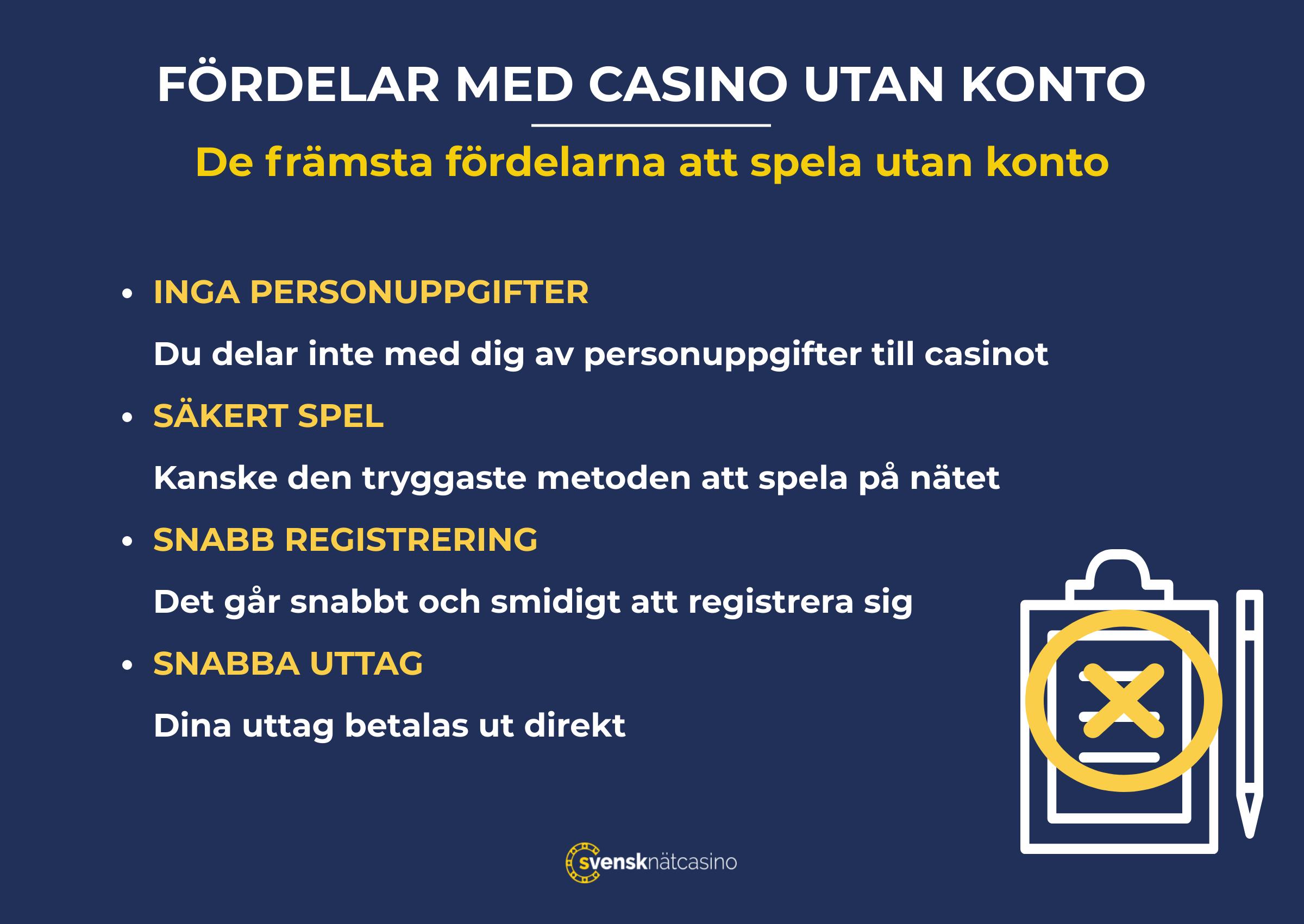 casino utan konto infographic useful svensknatcasino