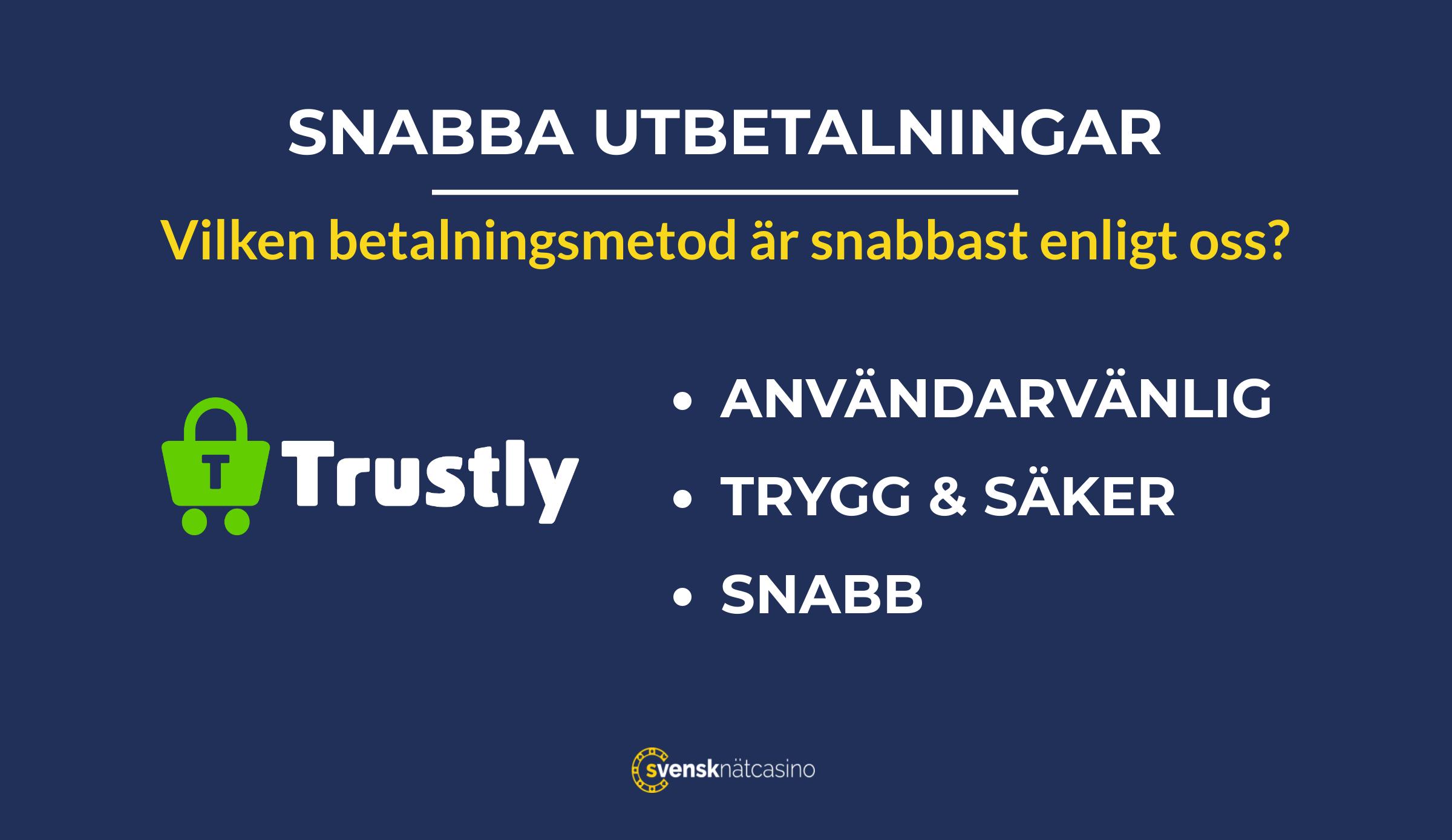 casinon med snabba utbetalningar snabbaste betalmetoden svensknatcasino se