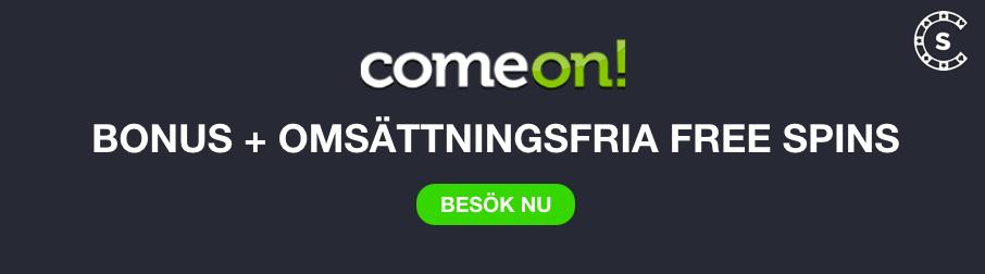 comoen bonus ny omsattningsfria free spins svensknatcasino se