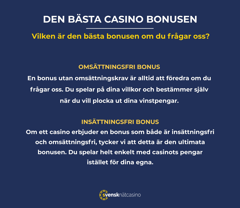 den basta bonusen om du fragar oss svensknatcasino se