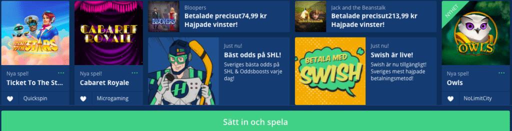 hajper casino swish nyhet banner svensknatcasino se