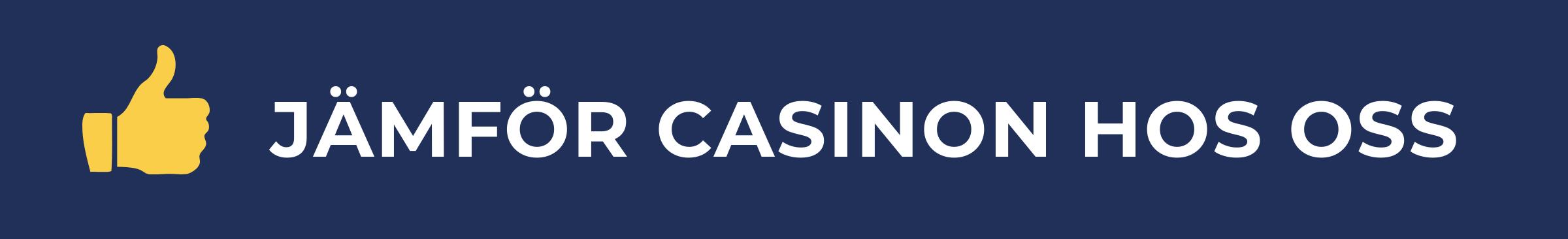 jämför casinon på svenskantcasino se