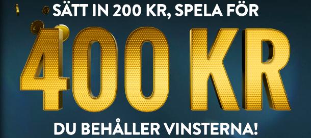 no account casino 400 kronor bonus svensknatcasino se