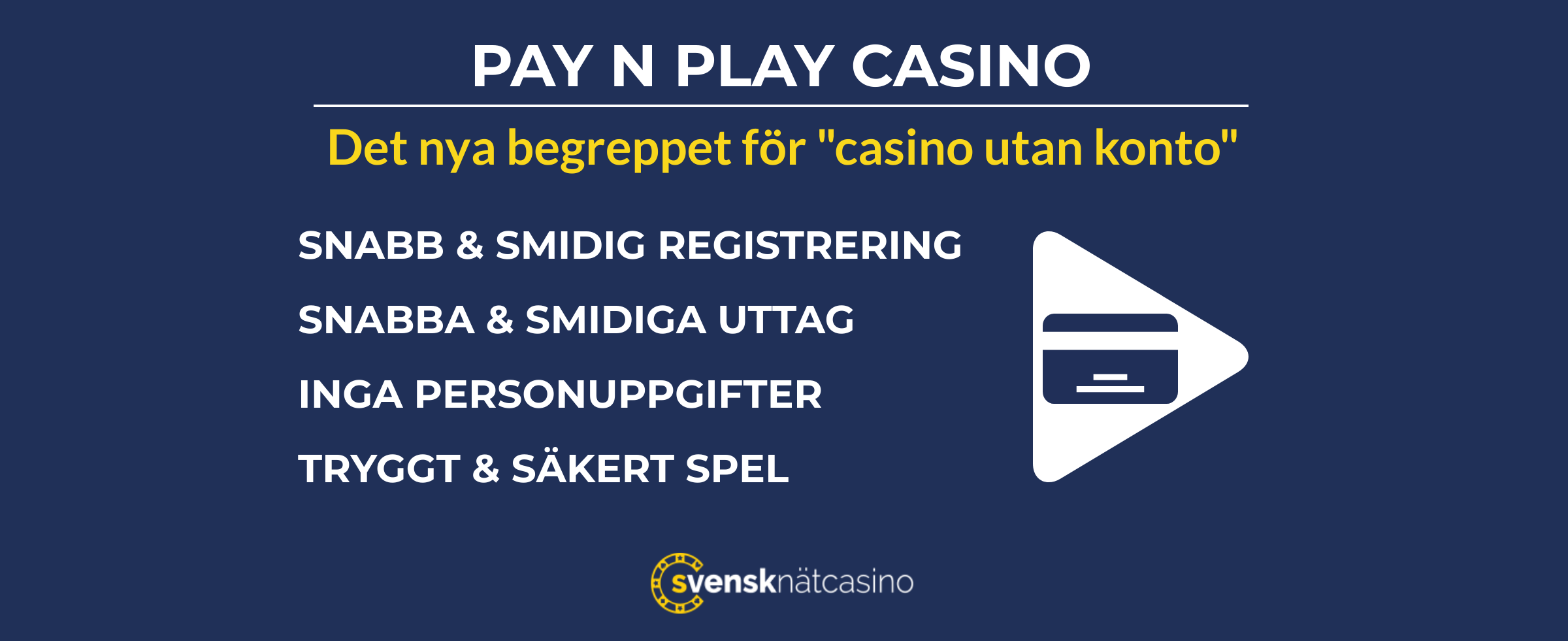 pay n play casinon utan konto svensknatcasino se