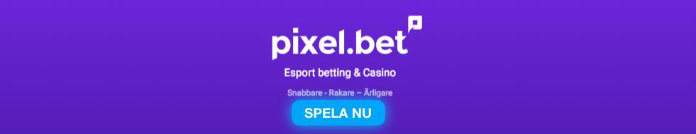 pixelbet casino banner logga svensknatcasino se