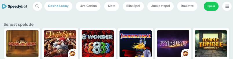 speedyBEt casino spel juni bonus svensknatcasino se