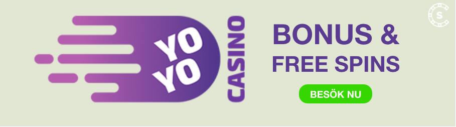 yoyo casino banner bonus och omsattningsfria spins svensknatcasino se