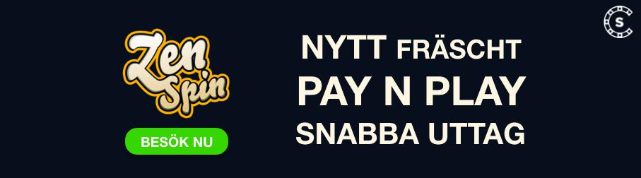 zenspin nytt pay n play casino svenskntcasino com